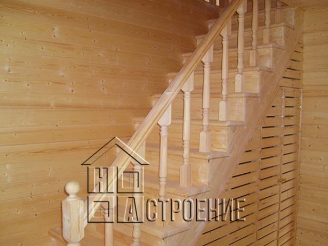 Внутренняя отделка деревянного  дома в Клину