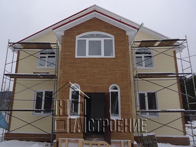 Строительство дома из блока