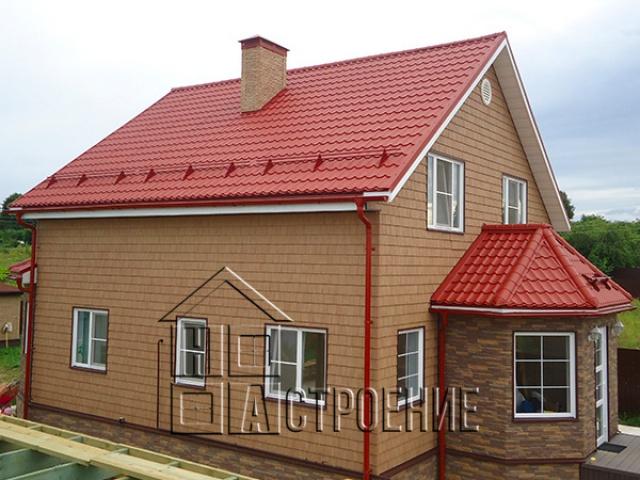 Строительство дома 9*9 под ПМЖ