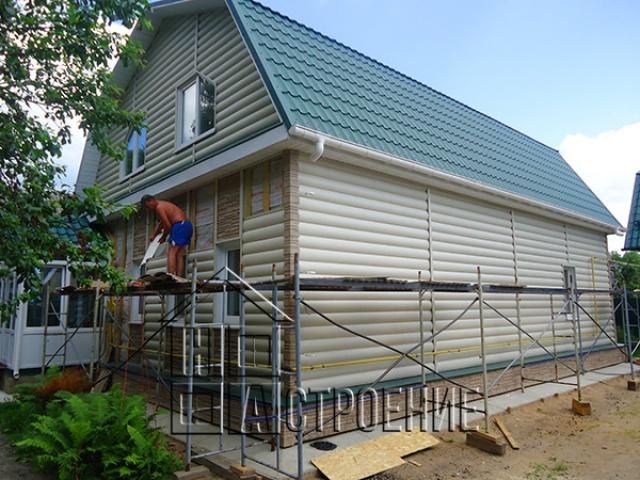 Реконструкция дома в Клину