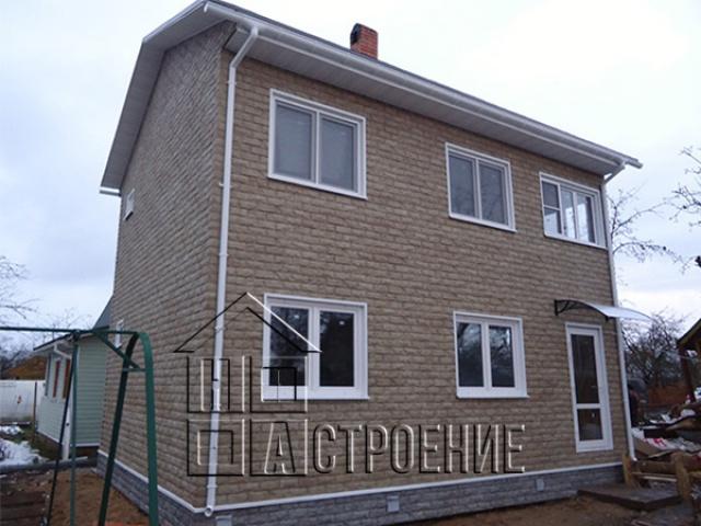 Дачный дом 6*8 с наружной отделкой