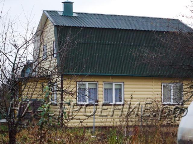 Строительство дома 6*9 с мансардой